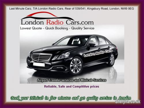 Picture of Get Quality Minicab Services By London Radio Cars