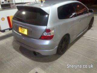 Picture of 2002 honda civic type r with big mods must be seen bargin at 2695
