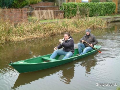 16ft Home Made Wooden Canoe Boats For Sale In Manchester North