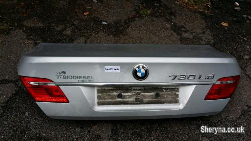 Picture of BMW 7 TRUNK 2006 YEAR (SILVER)