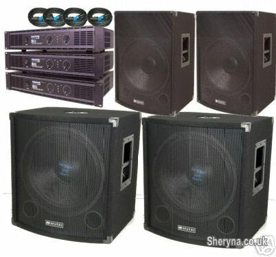 Picture of CFM DISCO EQUIPMENT HIRE IN WISBECH DJ SYSTEM RENTAL