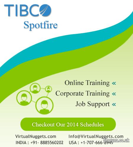 TIBCO Spotfire RealTime Online Training | Classes for sale